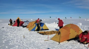 Facing the Cold: Camping and Survival in Antarctica
