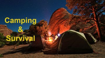 Different Camping and Survival Gears