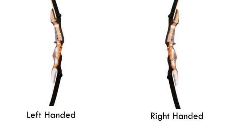 Left or Right Handed Bow