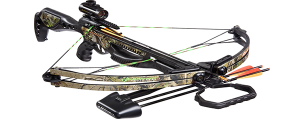 Barnett Jackal Crossbow Package Quiver 3 - 20 Inch Arrows and Premium Red Dot Sight