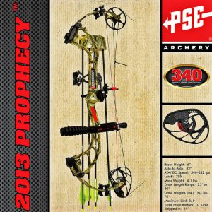 PSE Prophecy Ready compound bow