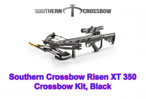 Southern Crossbow Risen XT 350 Crossbow Kit, Black