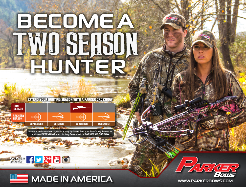 Parker Bows Challenger Ladies Crossbow