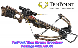 TenPoint Titan Xtreme Crossbow Package