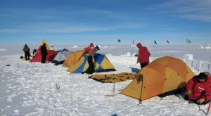 Camping and Survival in Antarctica