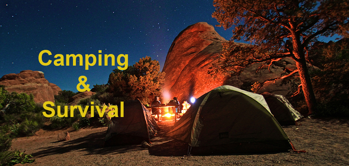 different-camping-survival