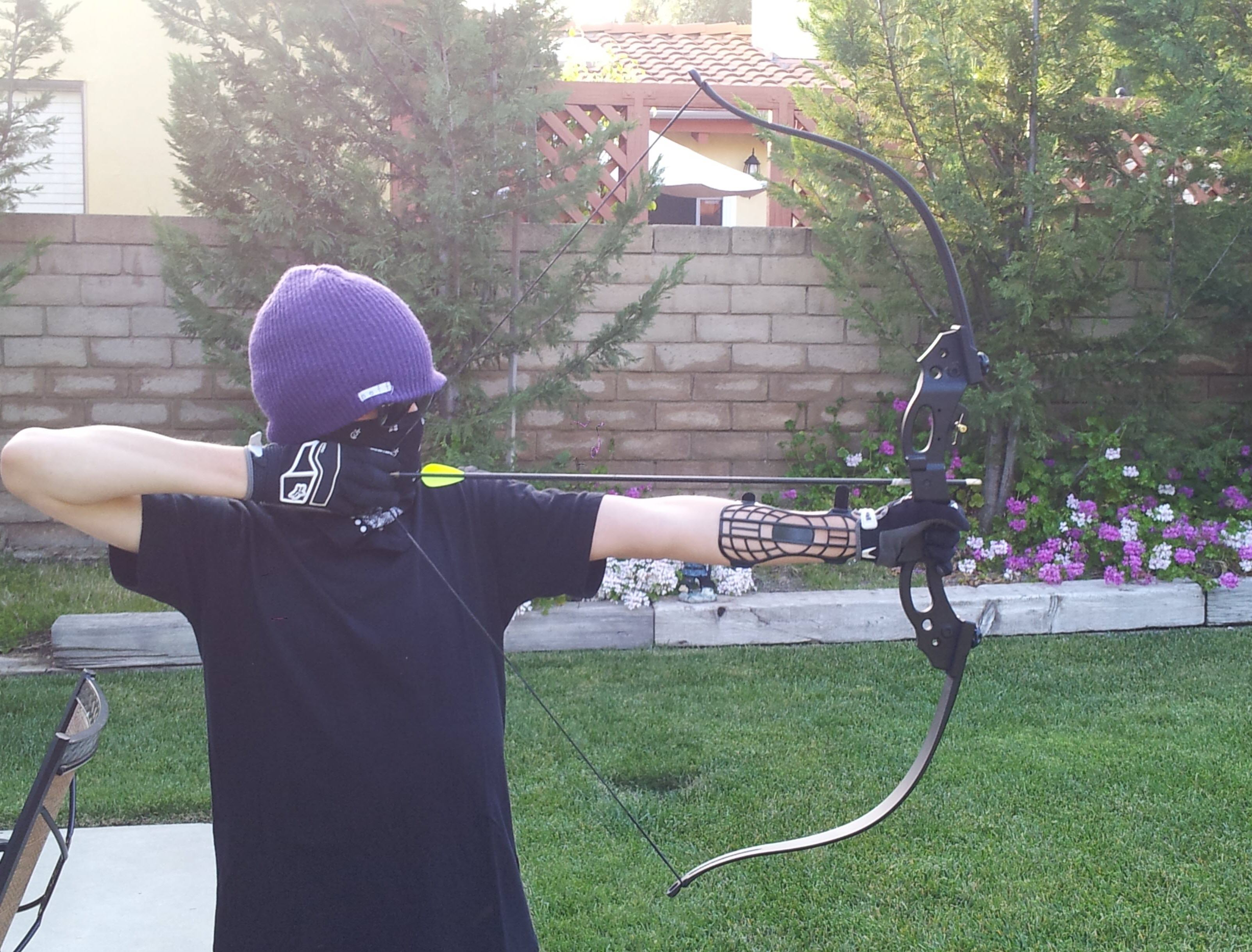 shoot recurve bow & string