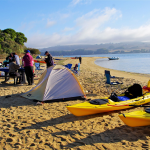 It's Relaxing To Soak Up The Sun While Beach Camping