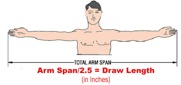 Arm-span-divide-2.5-draw-length