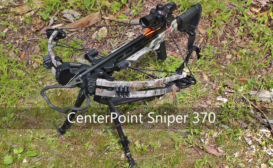 sniper 370 camo crossbow package
