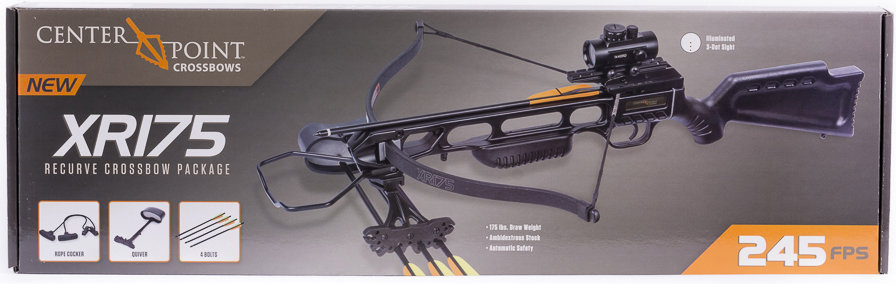 CenterPoint XR175 Recurve Crossbow