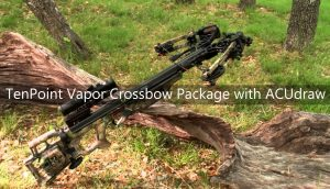 TenPoint Vapor Crossbow Package with ACUdraw