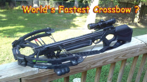 World's Fastest Crossbow