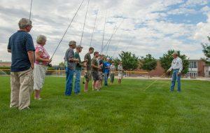 Practice Casting fishing