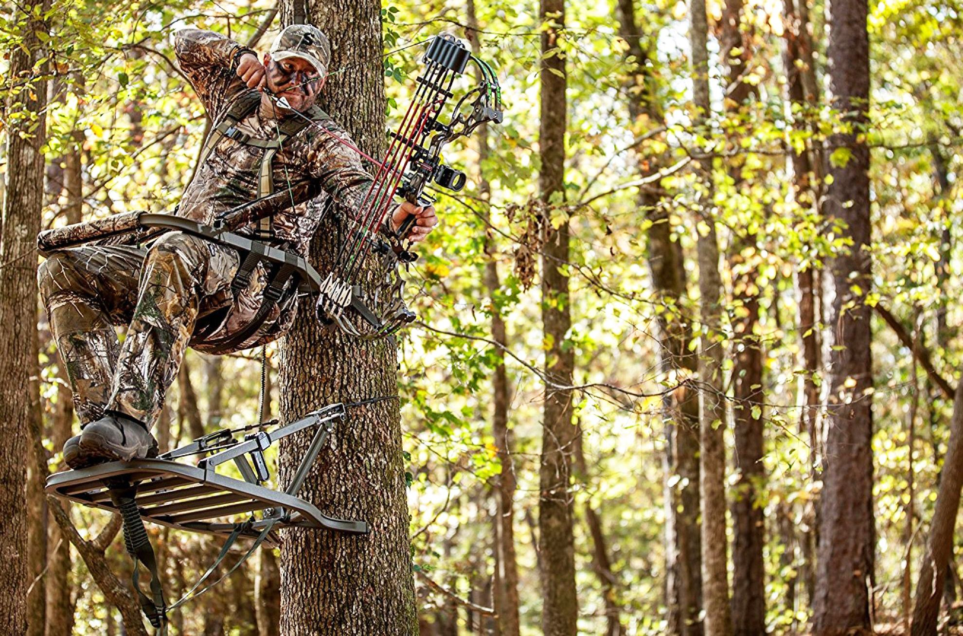 Bow Hunting Tree Stand Www Imgkid Com The Image Kid