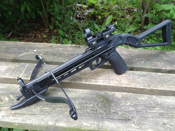how to make a pistol crossbow more powerful